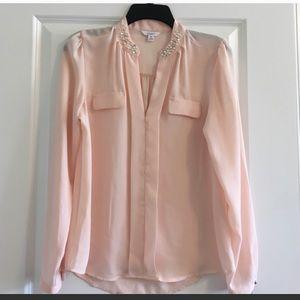 Blush color blouse